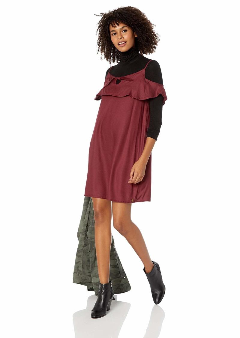 Roxy Junior's Still Waking Up Solid Dress  XS