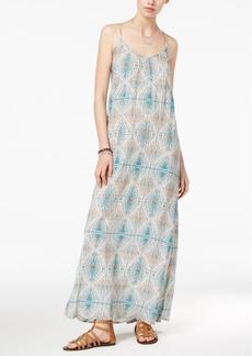 Roxy Juniors' Stillwater Sleeveless Jacquard Maxi Dress