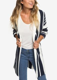 Roxy Juniors' Striped Cardigan