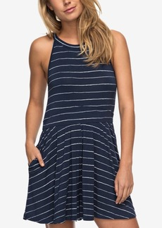 Roxy Juniors' Striped Cotton Romper