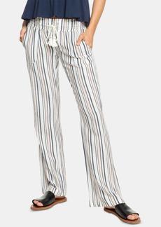 Roxy Juniors' Striped Soft Pants