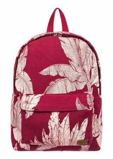 Roxy Junior's Sugar Baby Canvas Backpack rhubarb Banana Tree