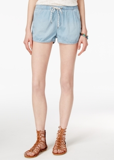 Roxy Juniors' Summerfeel Drawstring Denim Shorts