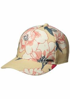 Roxy Women's Sun is Shinning HAT ivory cream new flowers 1SZ