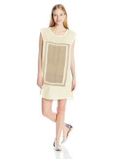 Roxy Juniors Sun Rays Cap Sleeve Dress
