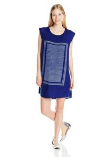 Roxy Juniors Sun Rays Cap Sleeve Dress