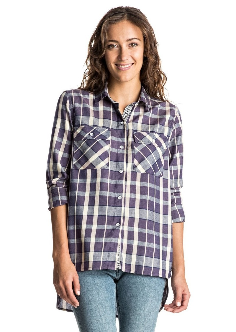 Roxy Junior's Sunday Funday Plaid Shirt