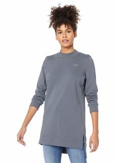 Roxy Junior's Suns Spinning Fleece T-Shirt Dress  M