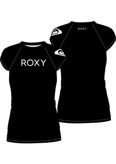Roxy Junior's Surf Cap Sleeve Rashguard  S