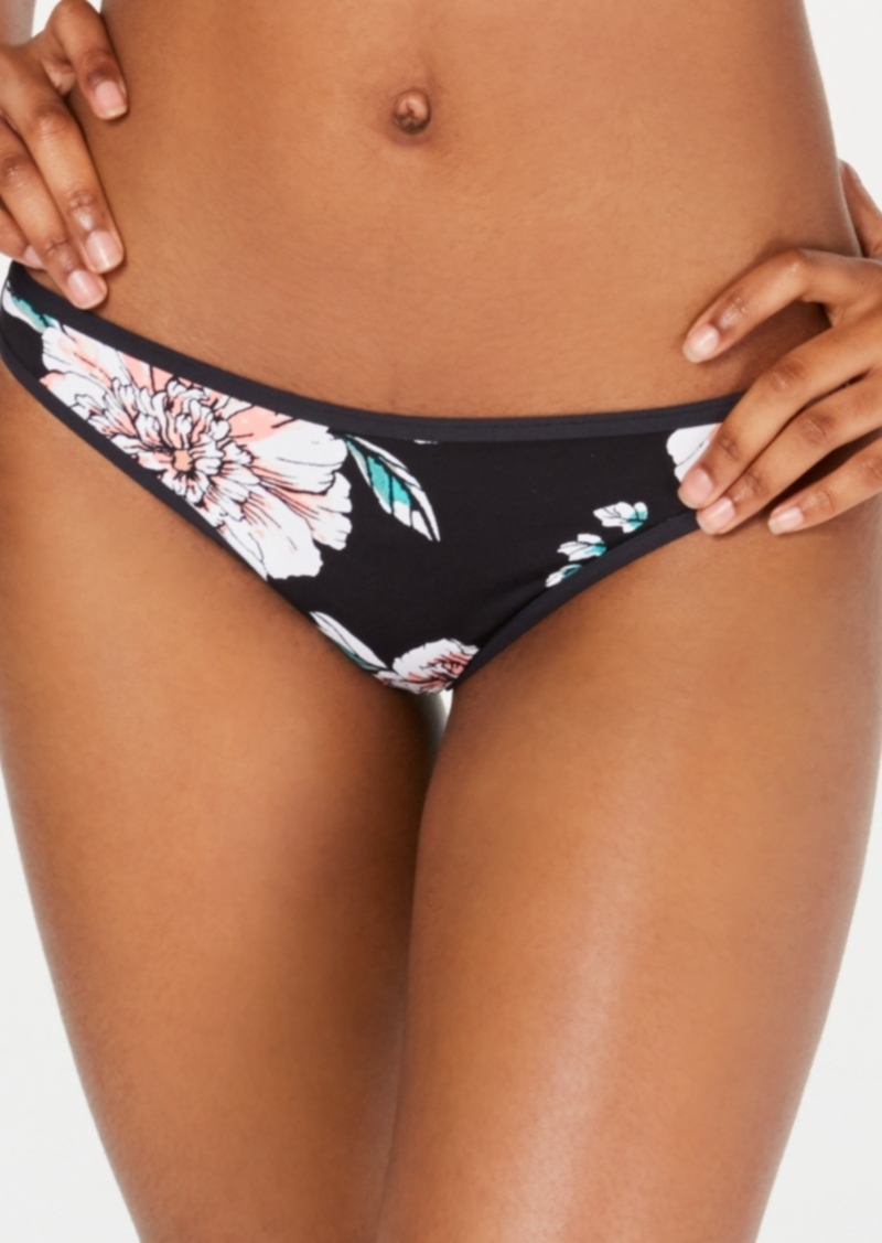Roxy Juniors' Surfin Love Printed Cheeky Bikini Bottoms Women's Swimsuit