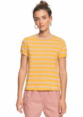 Roxy Junior's Tee Mineral Yellow Tenerife-RNUM Stripe S