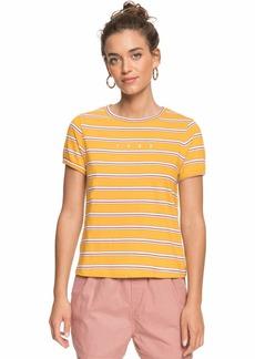 Roxy Junior's Tee Mineral Yellow Tenerife-RNUM Stripe S