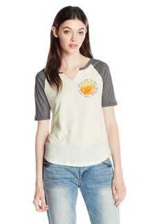 Roxy Junior's Tide Pool Fashion Raglan Top  S