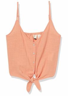 Roxy womens Tiny Mutinies Strappy Tank Top Shirt   US