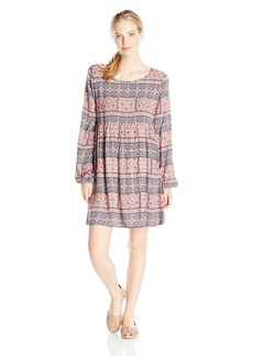 Roxy Junior's Traveler Printed Dress ystic osaic edium