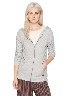 Roxy Junior's Trippin Zip up Fleece Sweatshirt  M