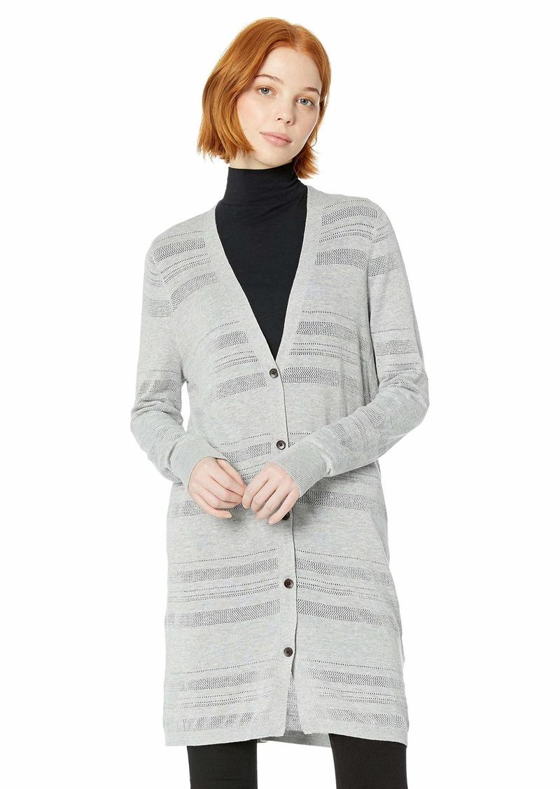 Roxy Junior's Tropic Lifestyle Mid Length Cardigan Sweater  XL