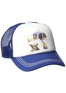 Roxy Junior's Truckin Trucker Hat Old Blue Depths