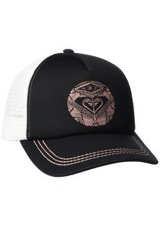 Roxy Junior's Truckin Trucker Hat Anthracite