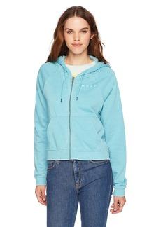 Roxy Junior's True to Life Zip up Sweatshirt  M