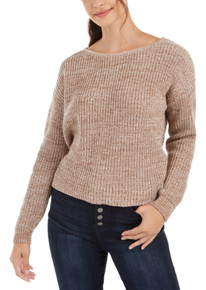 Roxy Juniors' Twisted-Back Sweater