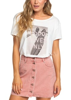 Roxy Juniors' Unforgettable Fall Cotton Corduroy Skirt