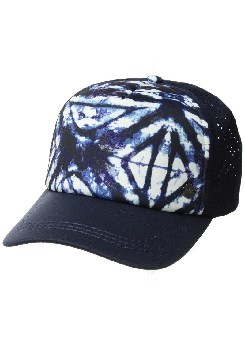 SALE! Roxy Roxy Junior s Waves Machines Trucker Hat f0c227dc4b21