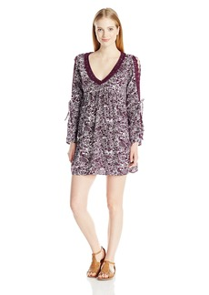 Roxy Junior's Wendi Printed Woven Shift Dress