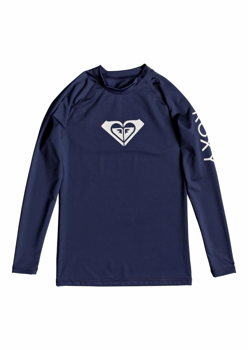 Roxy Junior's Whole Hearted Long Sleeve Rash Guard  XL