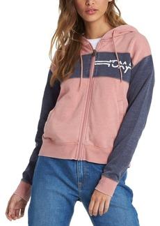 Roxy Juniors' Wind Down Zip-Up Hoodie