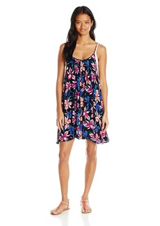 Roxy Junior's Windy Fly Away Print Cover Up Dress