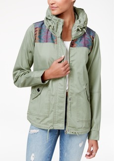 Roxy Juniors' Winter Cloud Embroidered Anorak