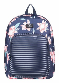 Roxy Junior's Winter Waves Backpack mood indigo F tandem