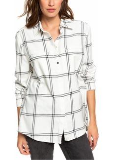 Roxy Juniors' Young Again Plaid Shirt