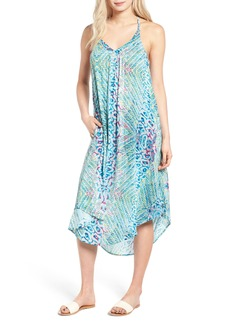Roxy Kat Fish Strappy Midi Dress