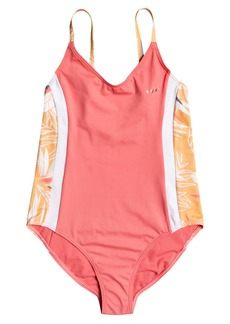 Roxy Kids' Free To Go One-Piece Swimsuit (Big Girl)