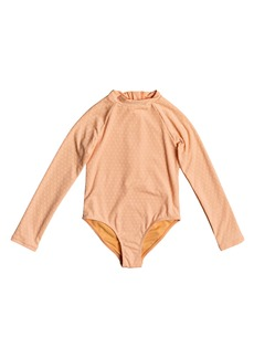 Roxy Kids' Long Sleeve One-Piece Swimsuit (Big Girl)