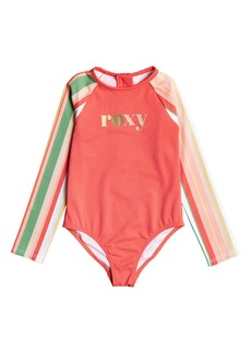 Roxy Kids' Stripy Sky One-Piece Swimsuit (Toddler & Little Girl)