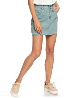 Roxy Linger Longer Corduroy Skirt