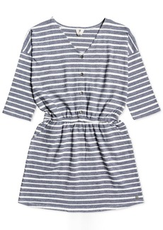 Roxy Little & Big Girls Cotton Striped Dress