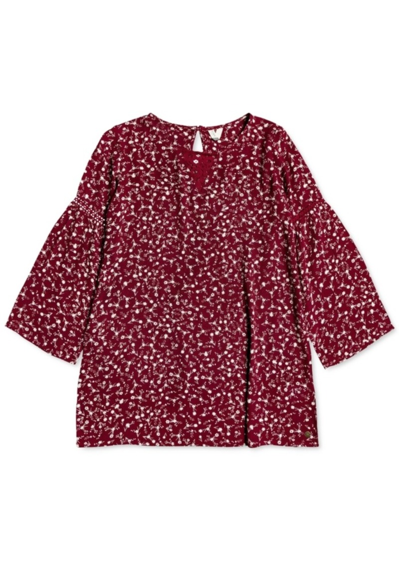 Roxy Little & Big Girls Floral-Print Dress