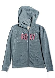 Roxy Little & Big Girls Zip-Up Logo Hoodie