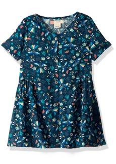 Roxy Little Girls' All You Need is Sun Dress Dress Blue Bird in The Sky