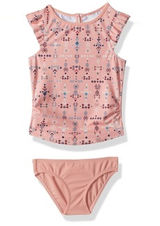 Roxy Little Girls' Boho Tankini Swimsuit Set