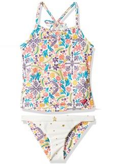 Roxy Little Girls' Caravane Beauty Tankini Swimsuit Set
