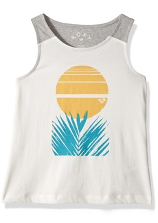 Roxy Little Girls' Collect Moments Desert Palm Tank Top