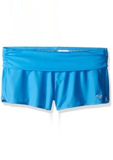 Roxy Little Girls' Core Fold Over Swim Short  6X