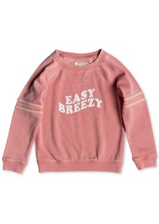 Roxy Little Girls Graphic-Print Sweatshirt