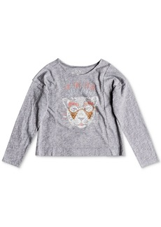 Roxy Little Girls Long-Sleeve Cotton T-Shirt
