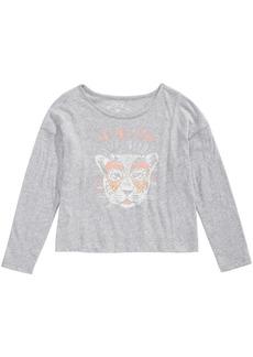 Roxy Little Girls Long-Sleeve Cotton T-Shirt